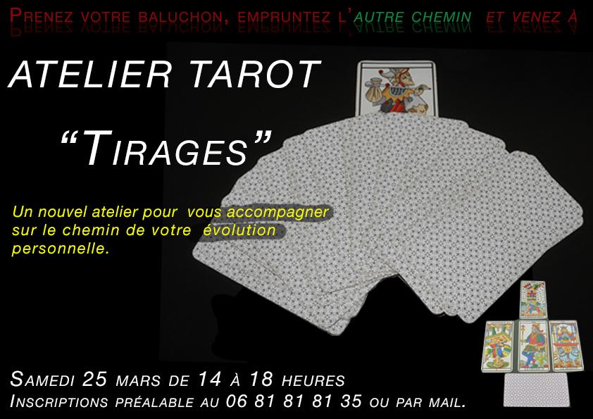 2017 Atelier tirage tarot